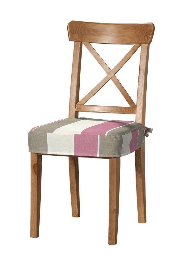 Sedák na stoličku Ingolf návlek na stoličku Inglof V kolekcii Cardiff, tkanina: 136-32