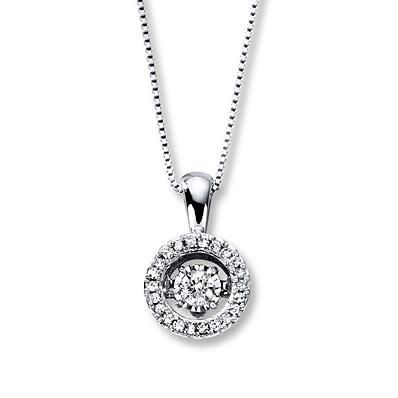 This Diamonds in Rhythm pendant is the perfect gift for the best mom ever.
