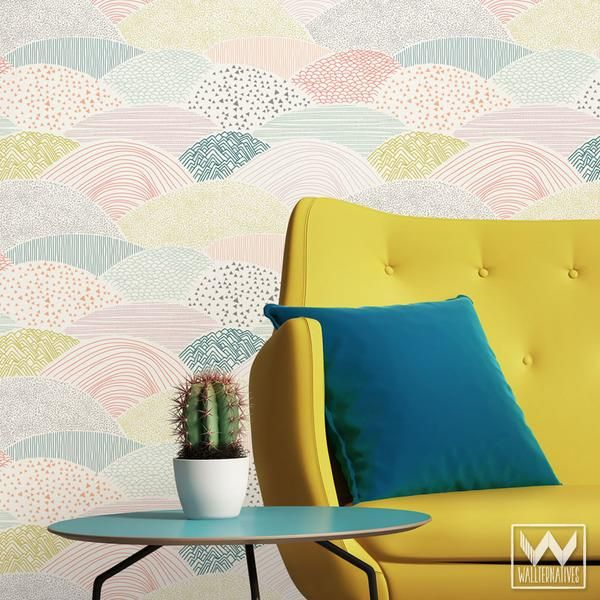 Summit Bonnie Christine Removable Wallpaper | Material specification ...