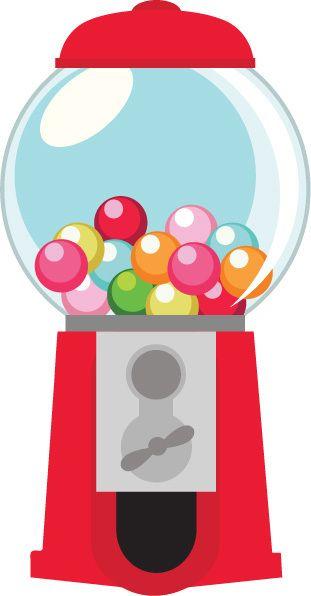 bubble gum machine template