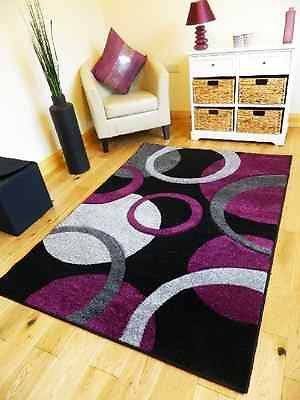 new medium xx large silver purple black grey carved quality mat cheap soft rug