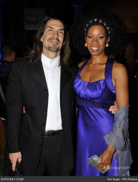 Kim Wayans with Husband Kevin Knotts