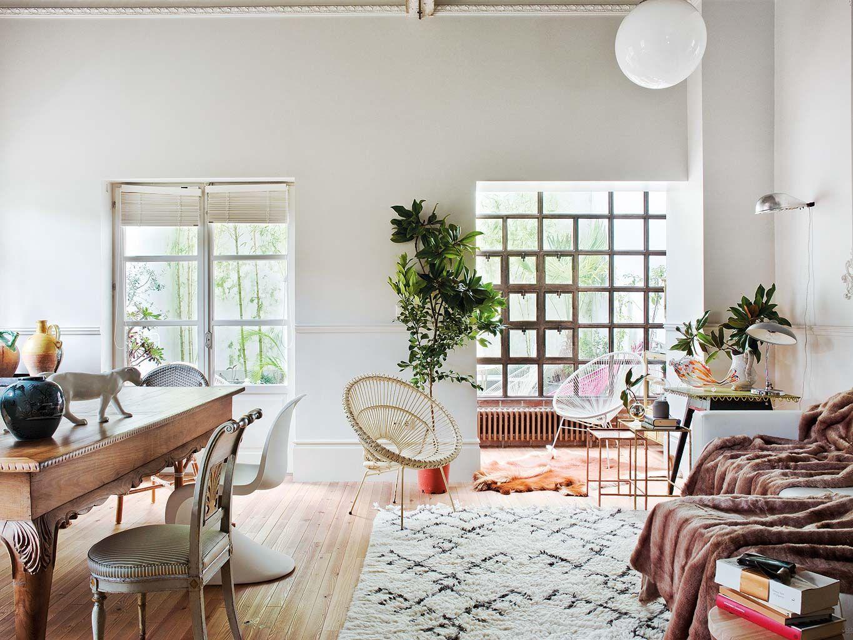 Un Duplex Spectaculaire A La Corogne Deco Interieur Art Deco Planete Deco