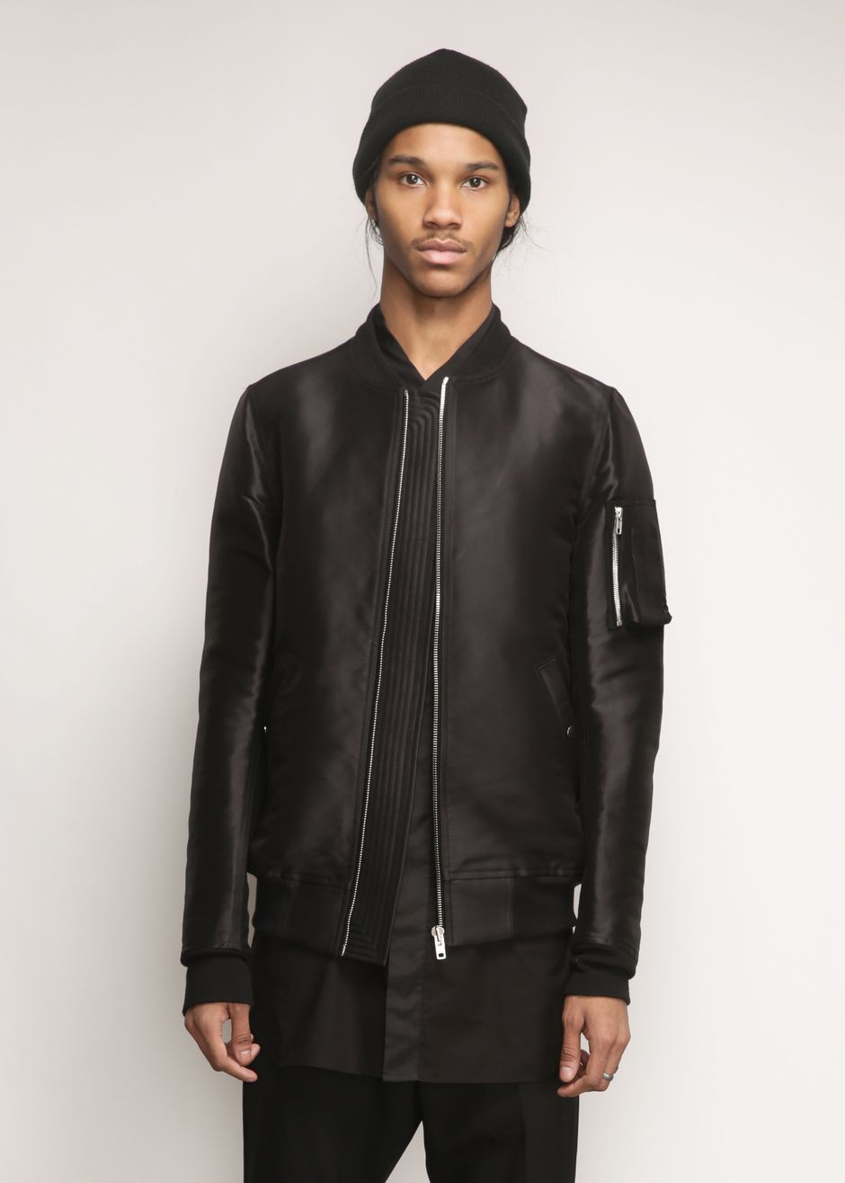 Rick Owens New Bomber Jacket (Black)