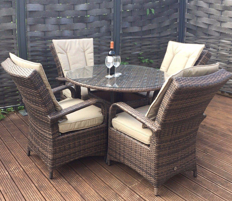 e251e5b908ba 9 Seater Outdoor Dining Set Natural Grey Rattan Corner Sofa Garden Furniture  for sale online | eBay. May 2019. Buy Rowlinson Thornbury 6 Piece ...