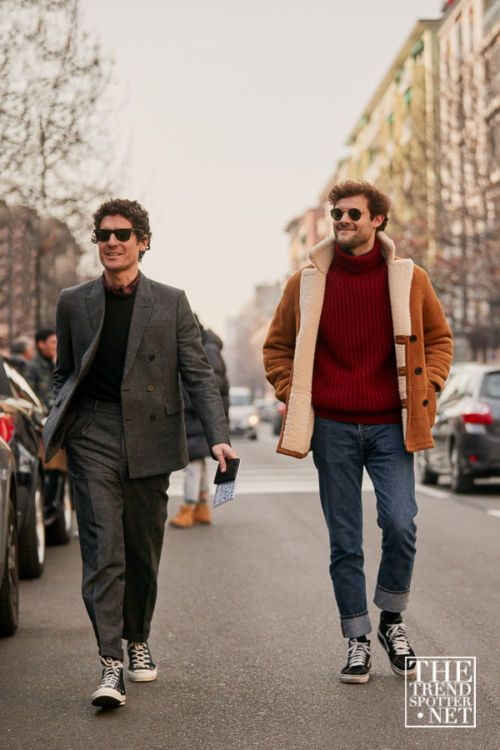 The Best Street Style From Milan Fashion Week Men's A/W 2019