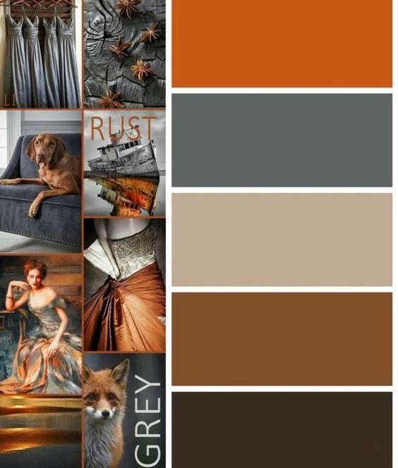 Warm Bedroom Color Schemes: Fall Color Palette, Bedroom Color Schemes