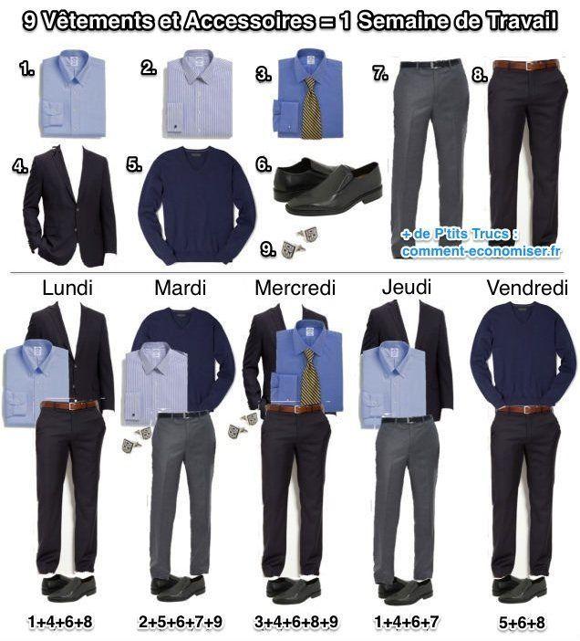 S 39 habiller diff remment tous les jours au bureau avec seulement 9 v tements lundi pinterest - Les astuces pour rendre un homme fou au lit ...