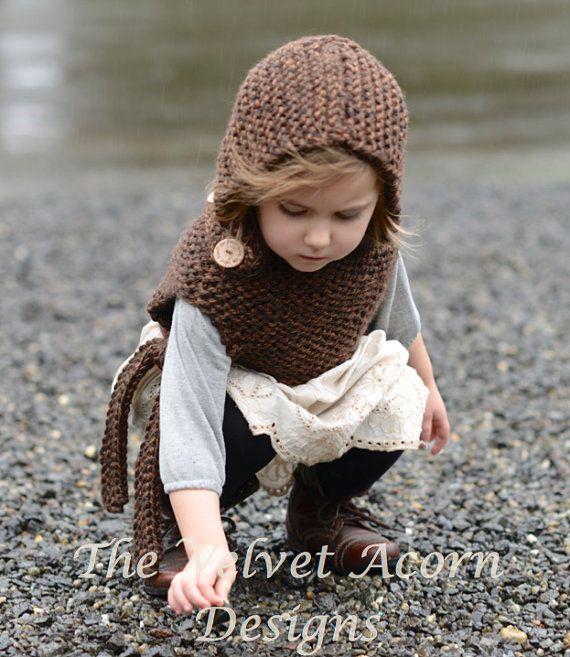 Knitting PATTERN-The Brighton Hood (12/18 months-2, 3/4, 5/7, 8/12 ...