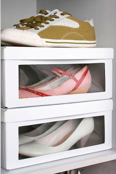 Os Maiores Segredos Para Organizar Seus Sapatos Usando Caixas