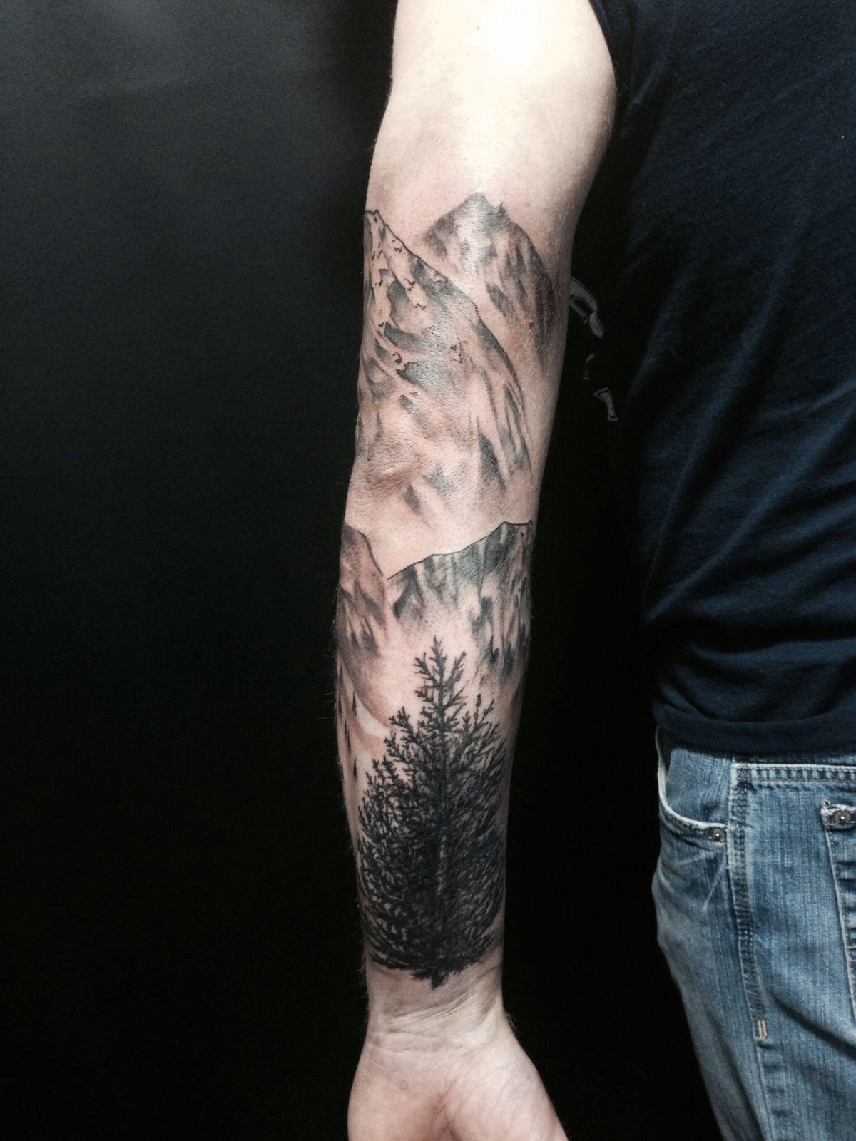 Forest tattoos tattoos nature tattoos