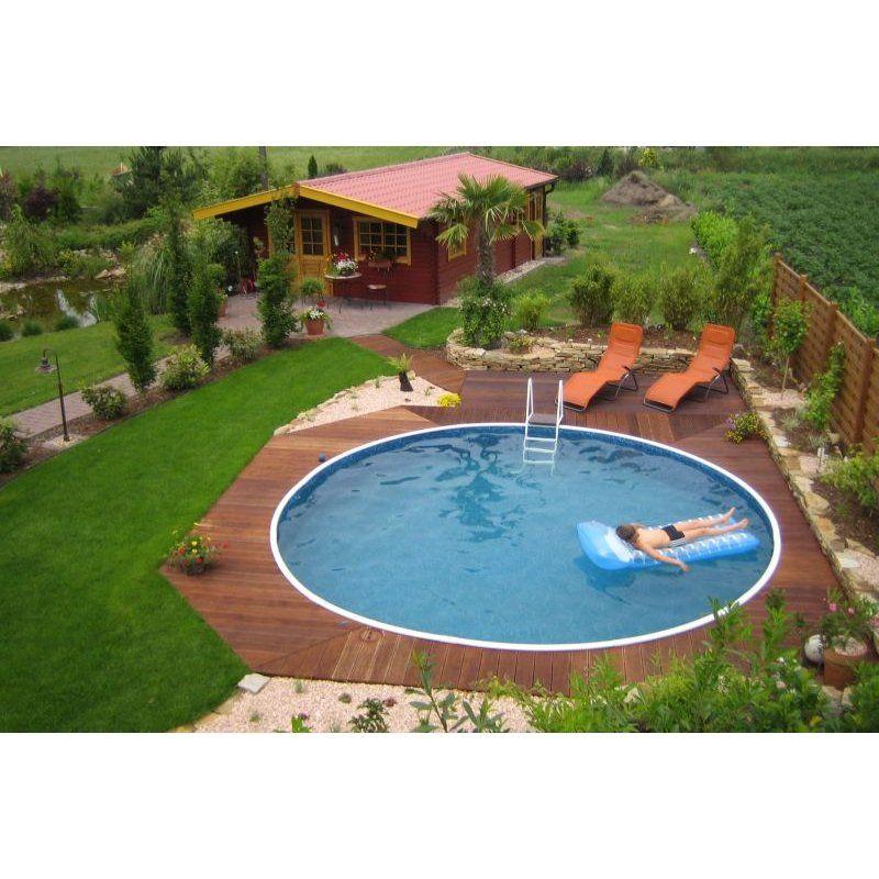Beeindruckend Schwimmbäder Für Den Garten Schwimmbad01: Holz Pool Halbversenkt - Google-Suche