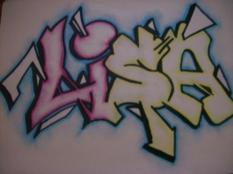 Lisa Lisa Name Graffiti Name Art