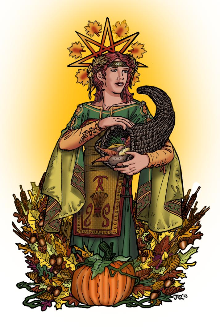 Mabon by Jess-Foxx-Quinn.deviantart.com on @deviantART | Mabon, Pagan art,  Art