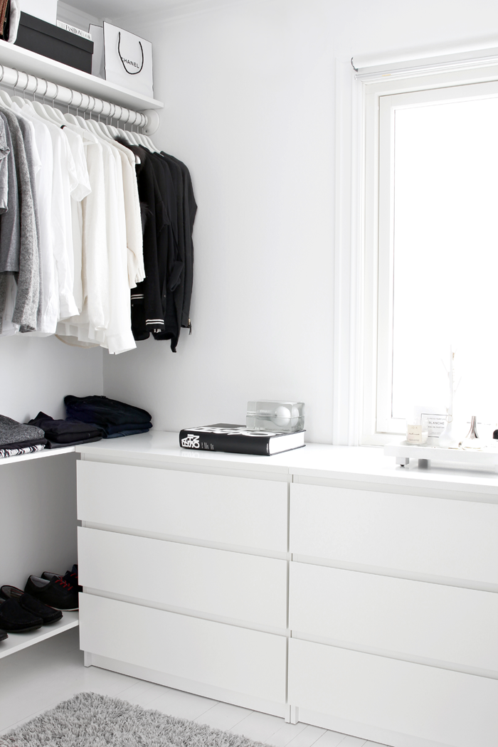 Walk In Closet On A Low Budget
