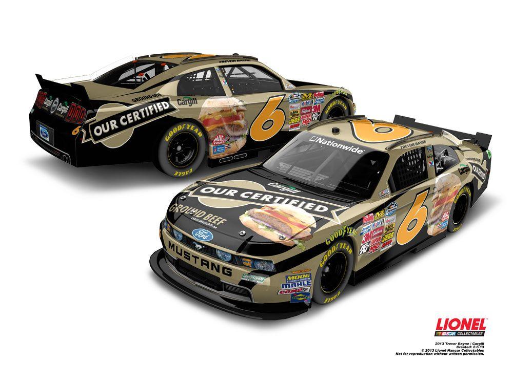 Cargill paint scheme for Trevor Bayne on the Ford Mustang ...