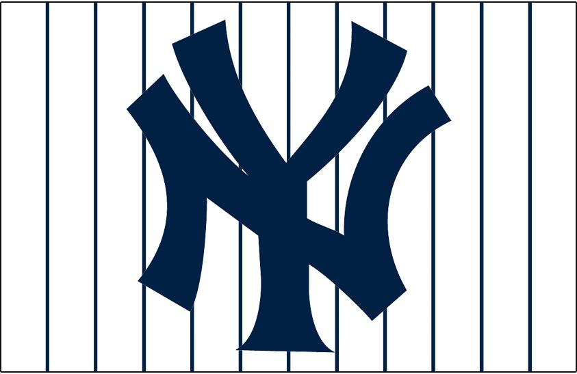 new york yankees jersey logo 1947 interlocking ny in