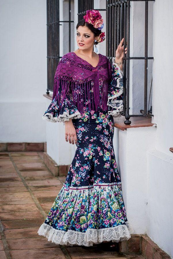 Aquí uno de los nuevos trajes de la colección de Flamencas de Pitiminí.