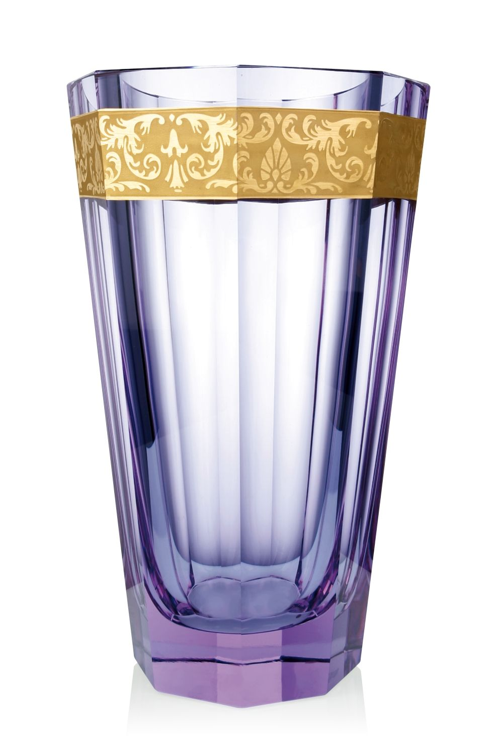 Purity 626 hand cut and gilded vase moser glassworks luxury purity 626 hand cut and gilded vase moser glassworks luxury bohemian crystal glass reviewsmspy