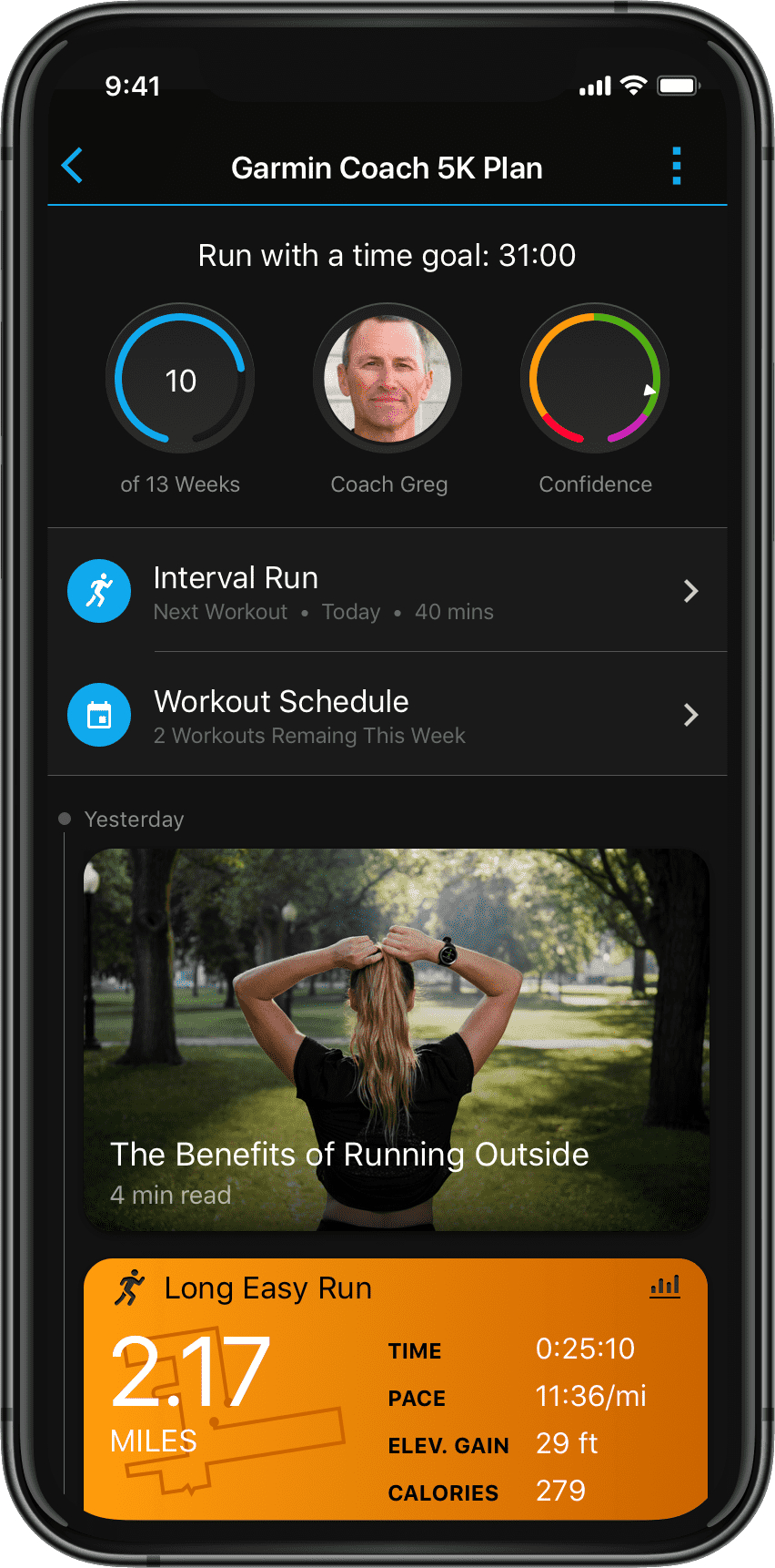 Garmin Connect Free Online Fitness Community Online Workouts Garmin Connect Workout Schedule
