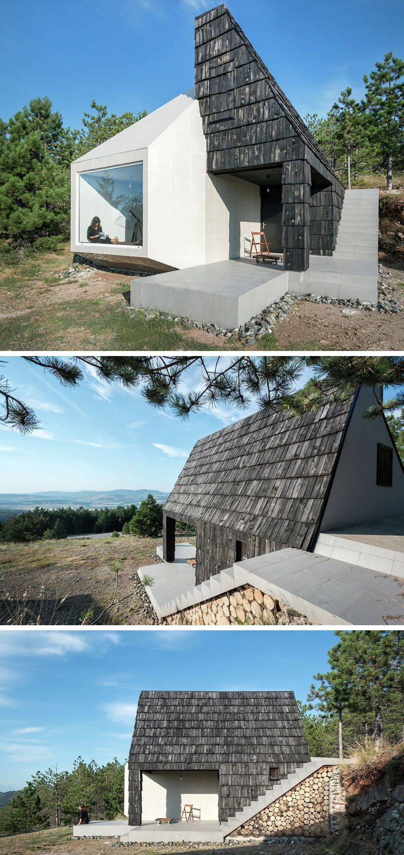 13 Examples Of Modern Houses With Wooden Shingles // This house ...