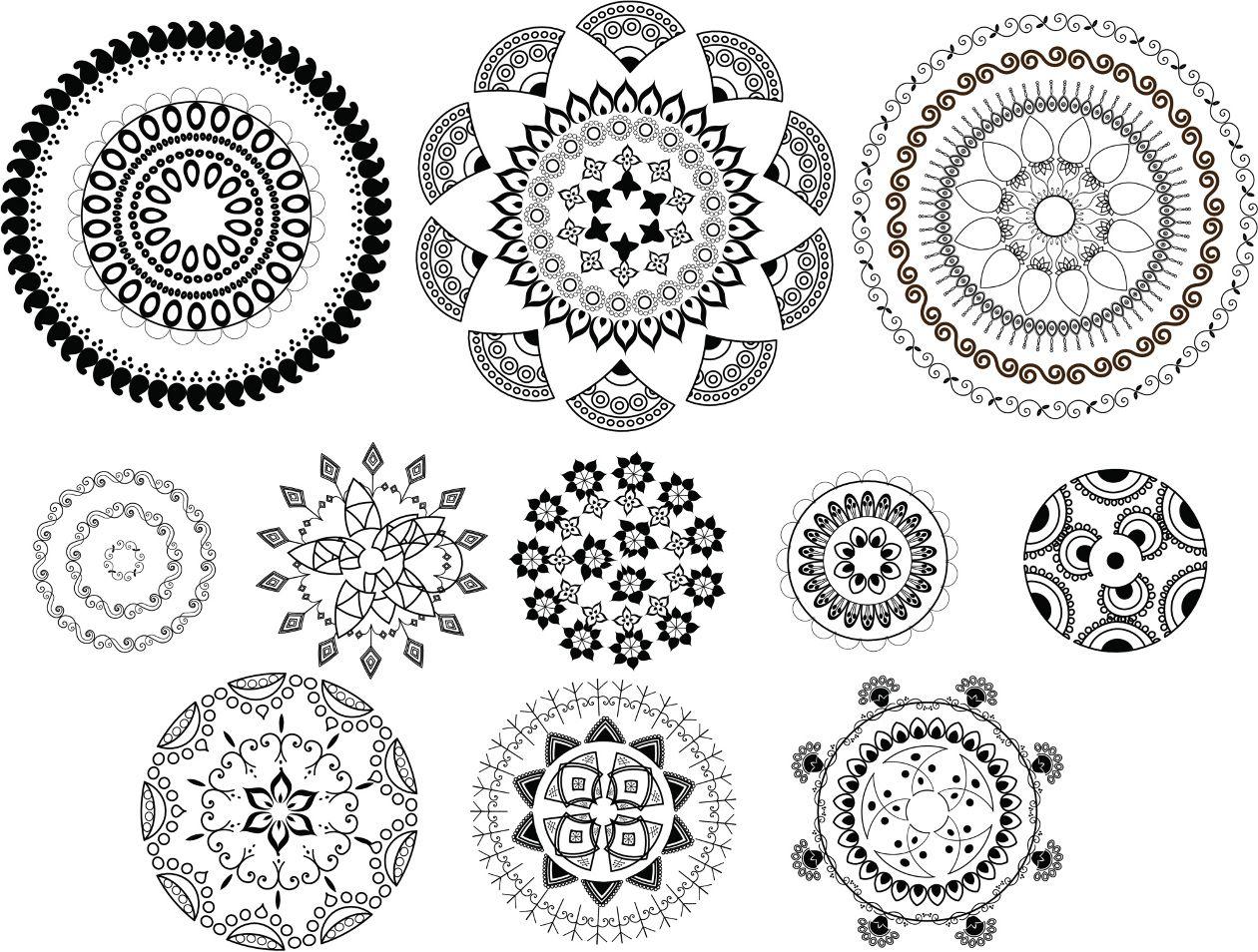 Desenhos De Tatuagens De Mandalas