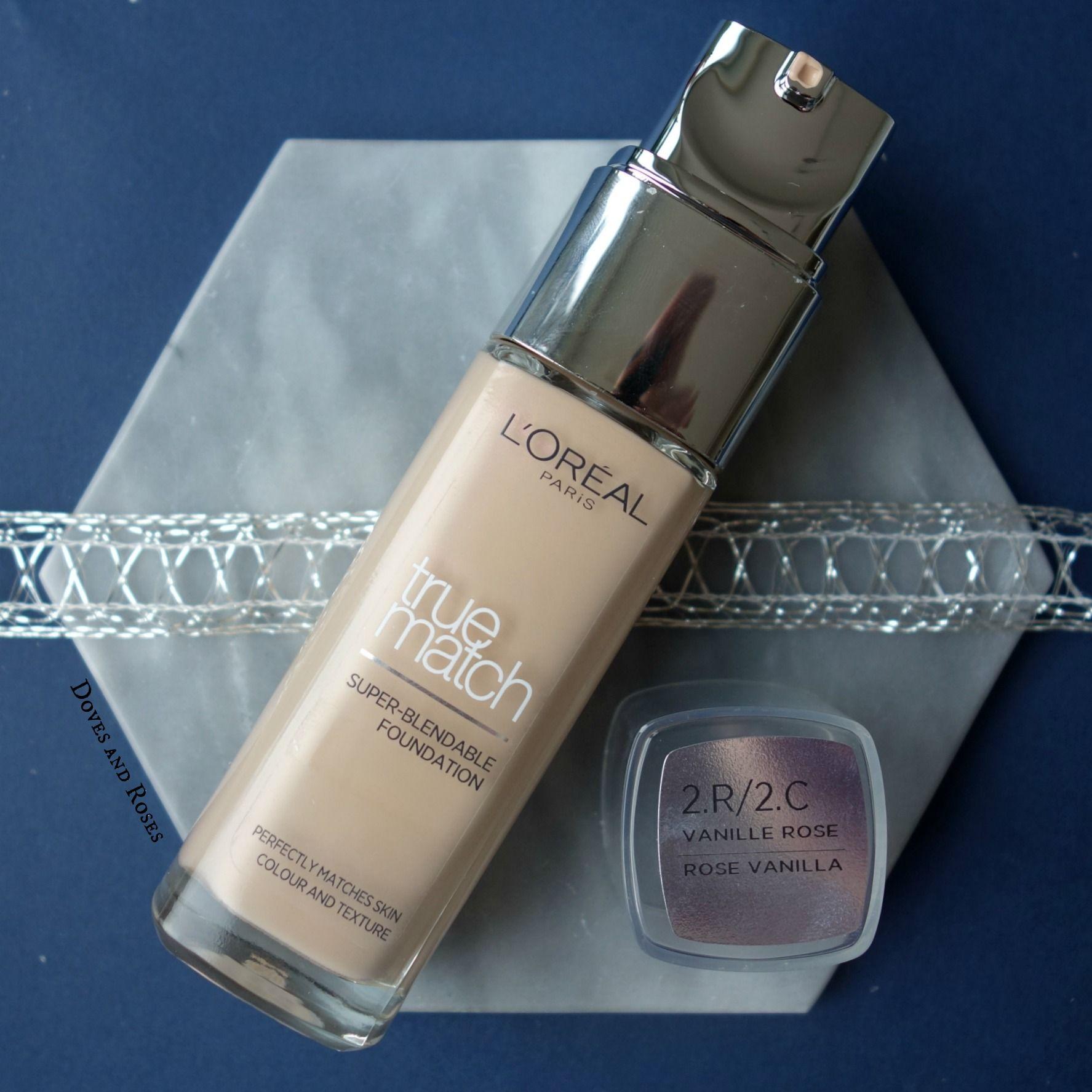 Loreal True Match Foundation in rose vanilla. Makeup