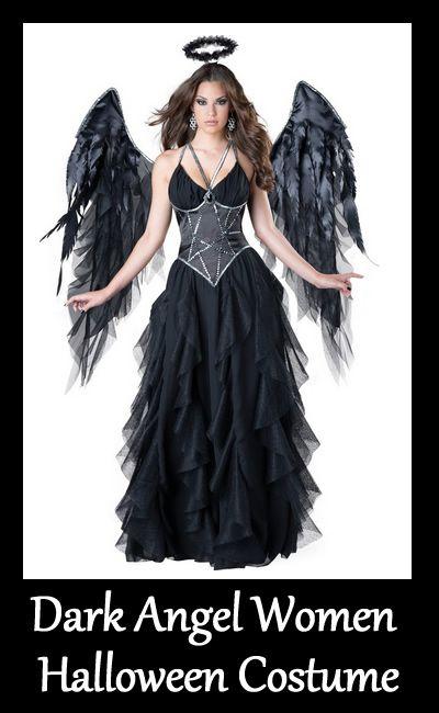die besten 25 dark angel halloween kost m ideen auf pinterest dunkler engel kost m engels. Black Bedroom Furniture Sets. Home Design Ideas