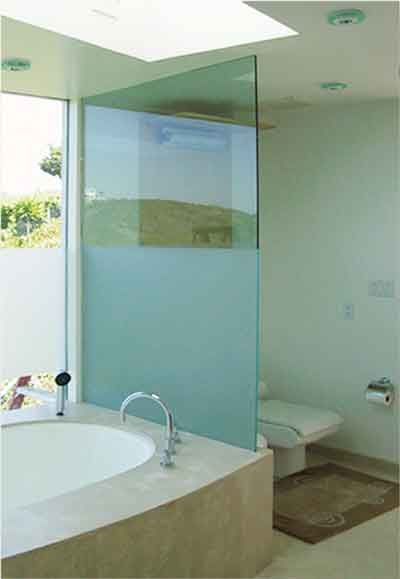 Gl Bathroom Wall Dividers