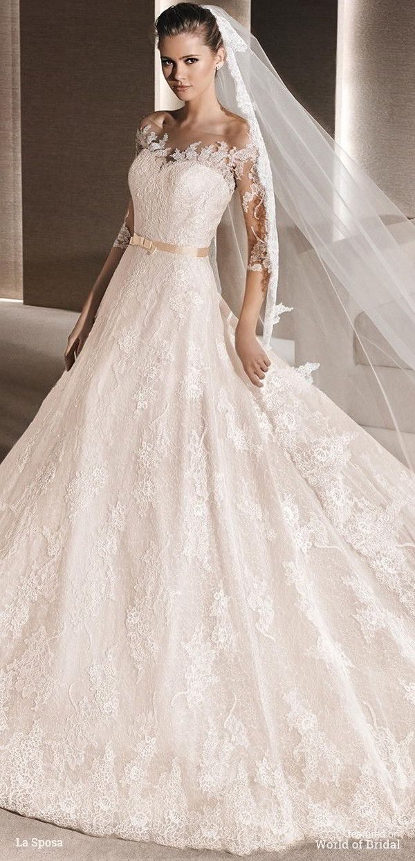 La Sposa 2016 Wedding Dresses Part 1 World Of Bridal Wedding Dresses Bridal Dresses Top Wedding Dress Designers