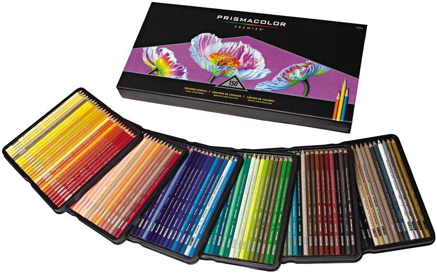 A huge set of Prismacolor pencil 150ct set, since mine are MIA. dick ...