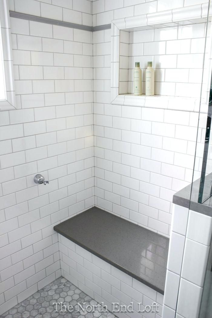 White Subway Tile Shower Image Of White Subway Tile Shower Bathrooms Remodel Bathroom Remodel Master Small Bathroom