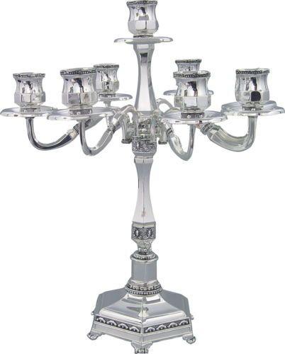 Details About 7 Branch Elegant Candle Holders Candelabra 35cm Wedding Decoration Centerpieces Candelabros Presentaciones Regalos