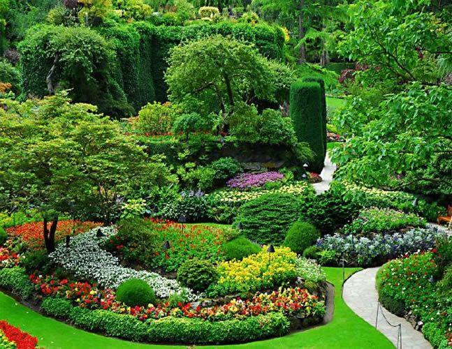 Fotos de parques y jardines dise o y construccion natural for Jardines disenos exteriores