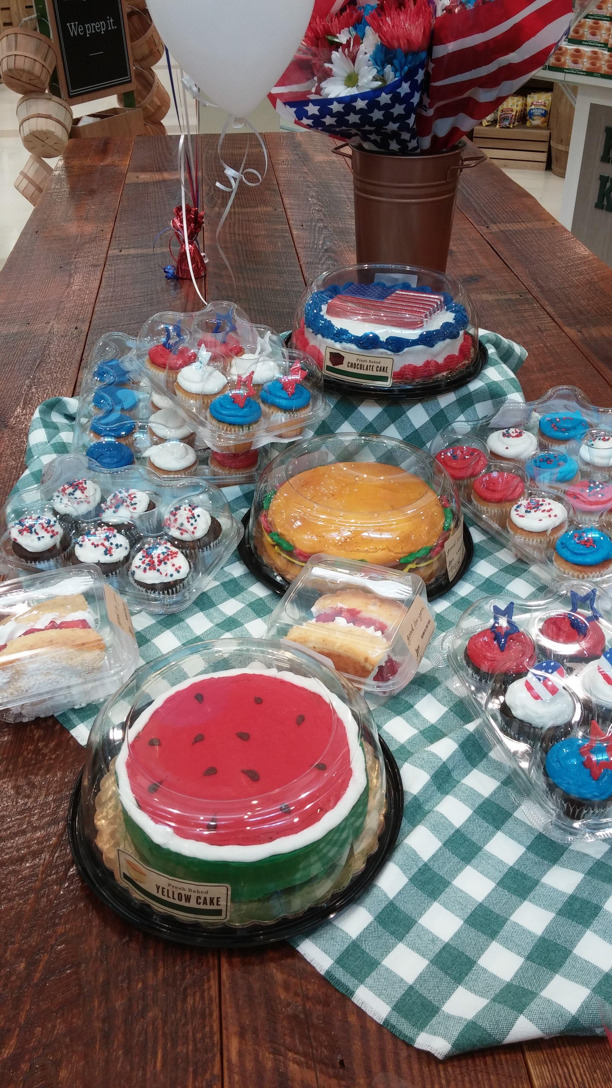 Labor Day treats from Blue Ridge Bakery Community table
