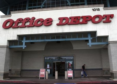 Business Outlook Office Depot Beat Estimates On Officemax Related