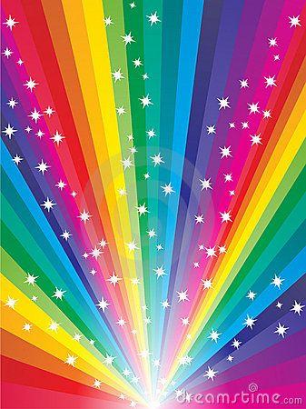 Abstract Rainbow Background Rainbow Background Rainbow Colors