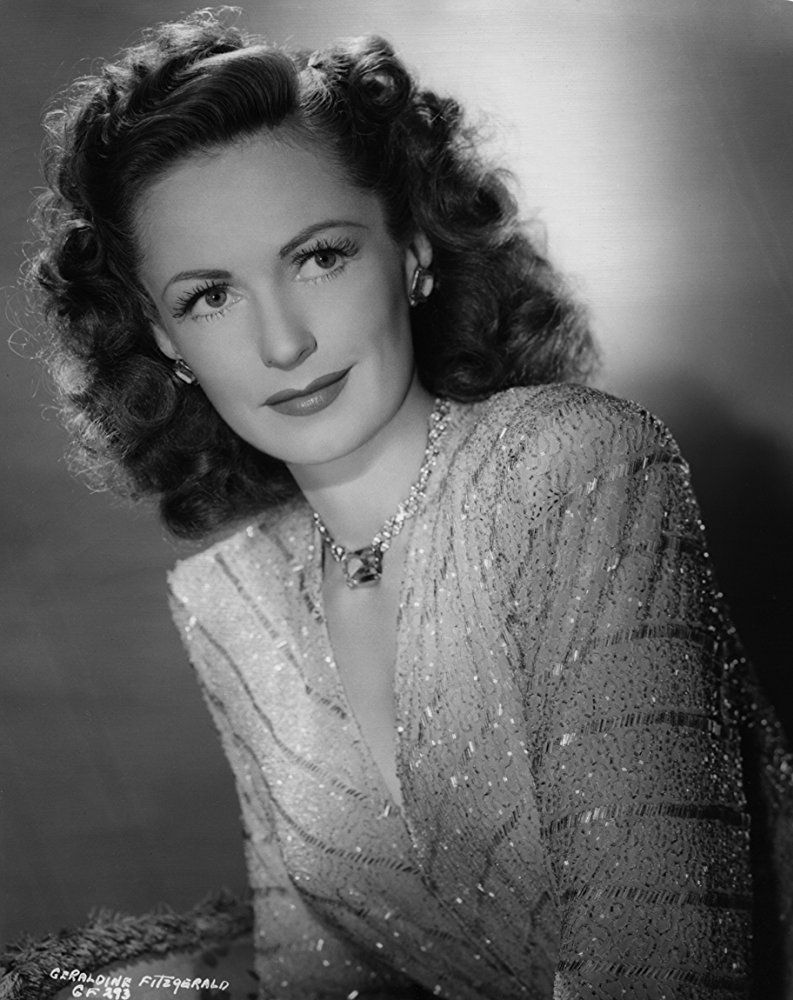 pics Geraldine Fitzgerald (British actress)