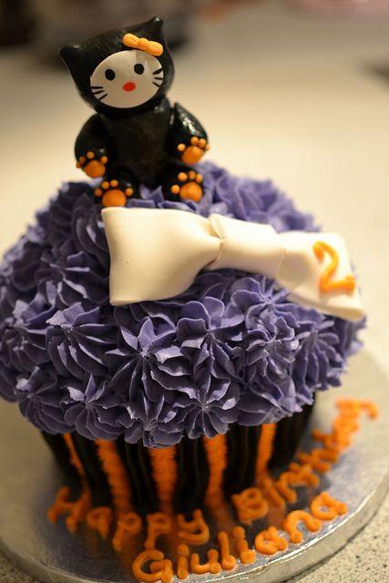 Hello Kitty Halloween Birthday Giant Cupcake Hello kitty halloween - hello kitty halloween decorations
