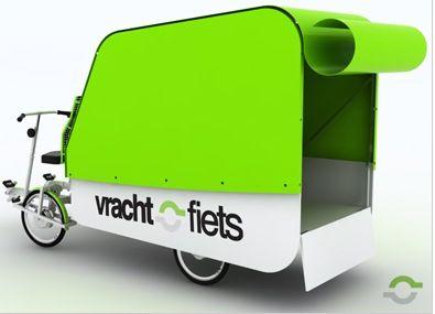 vrachtfiets dutch solar powered cargo bikes photo