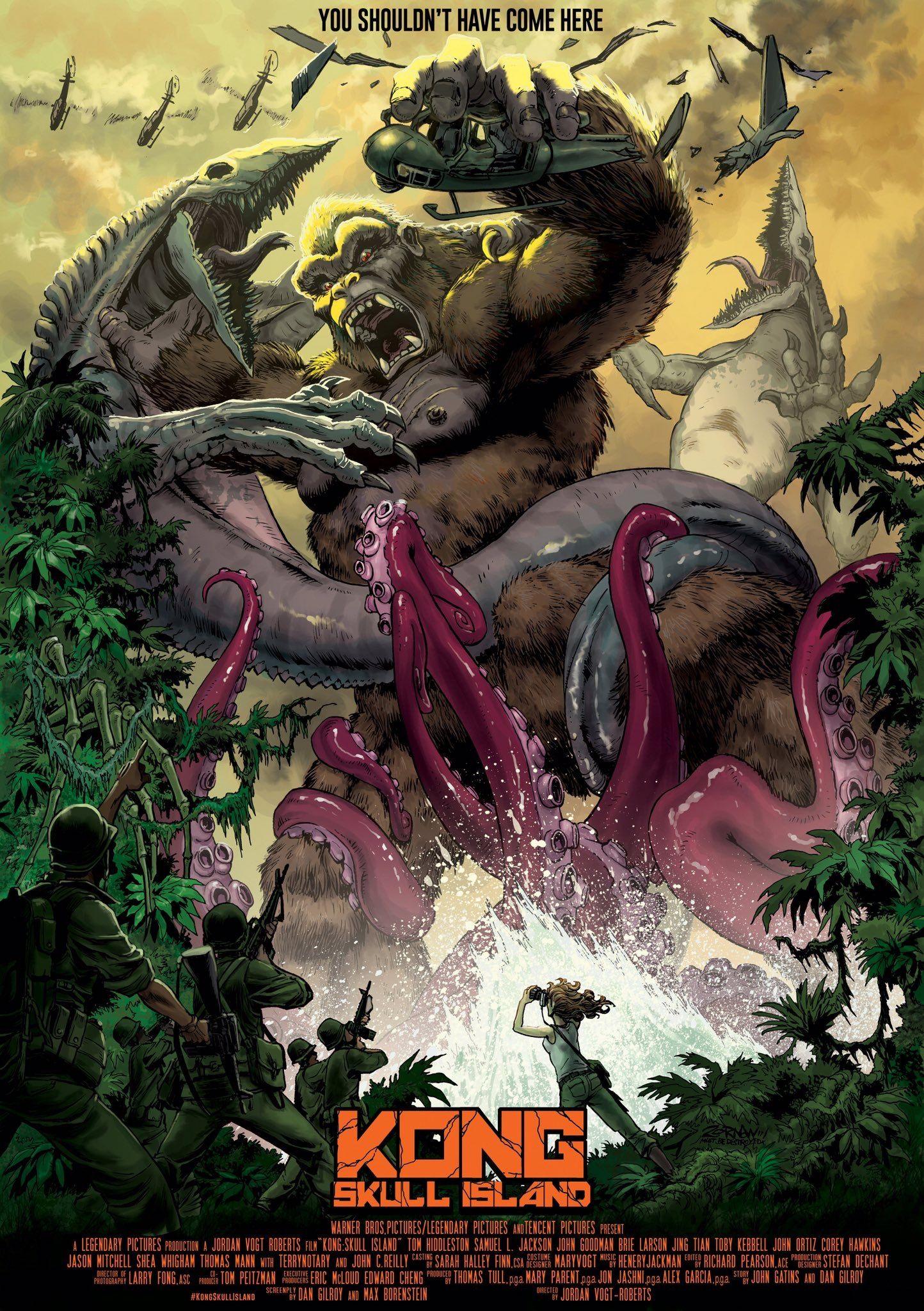 Kong Skull Island 2017 King Kong King Kong Vs