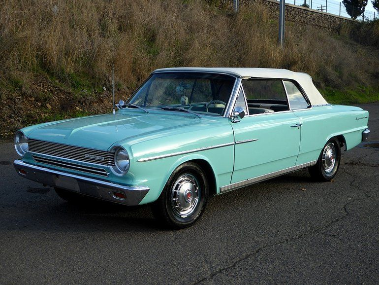 1964 Amc Rambler Convertible With Images Rambler Amc Cars
