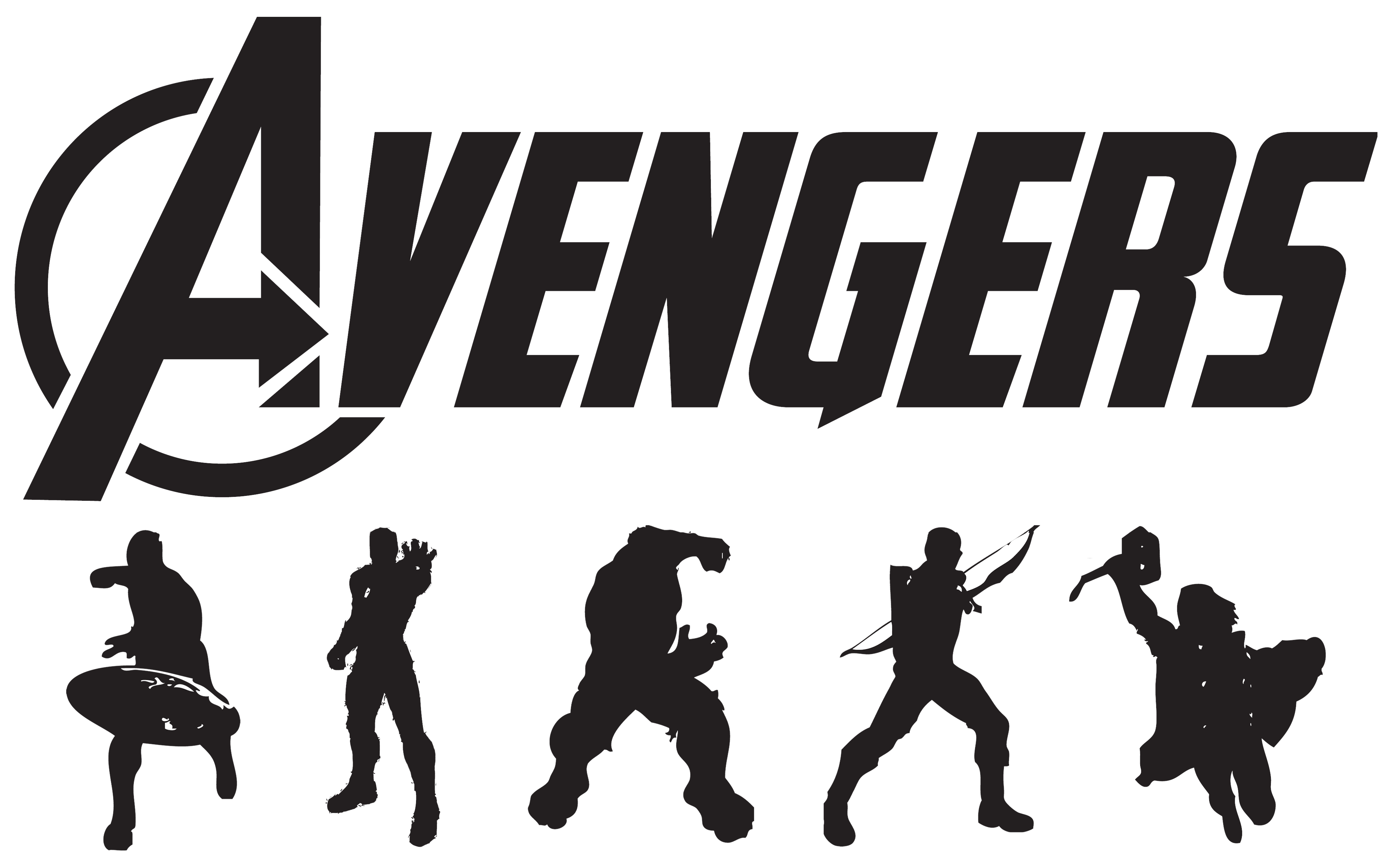 submitted by modsoft Superhero silhouette, Avengers