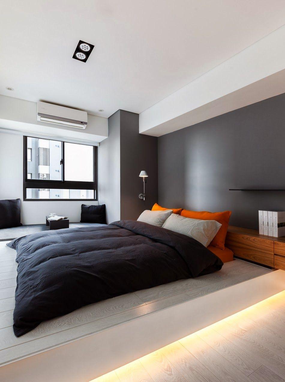AuBergewohnlich Amenajari, Interioare, Decoratiuni, Decor, Design Interior, Minimalist,  Apartament, Dormitor