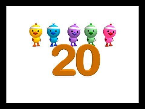 Los Números Del 1 Al 20 Canción Infantil La Pelota Loca Canciones Infantiles Aprendiendo Los Numeros Matemáticas Para Niños