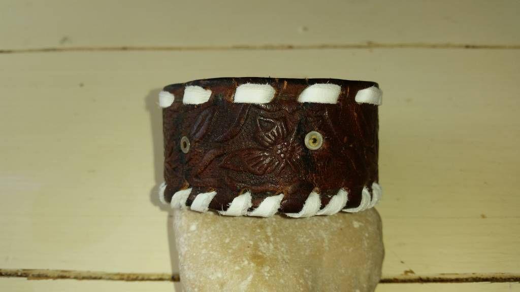 Leren armband Didem, Leren armband van Didem, No Eagle.