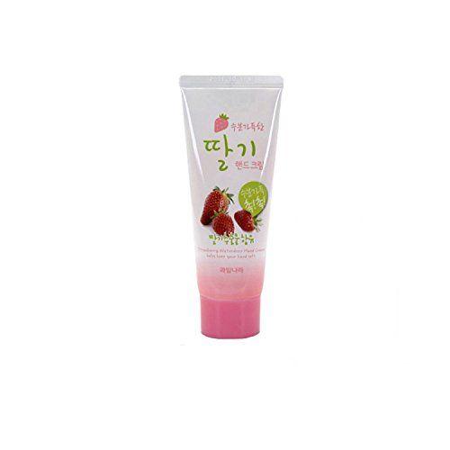 Welcos Strawberry Scent Hand Care Cream Moisture Nourishing Hand