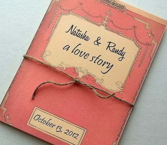 Wedding Invitation Storybook Suite Includes 3 Info By 0namesleft 90 00 Book