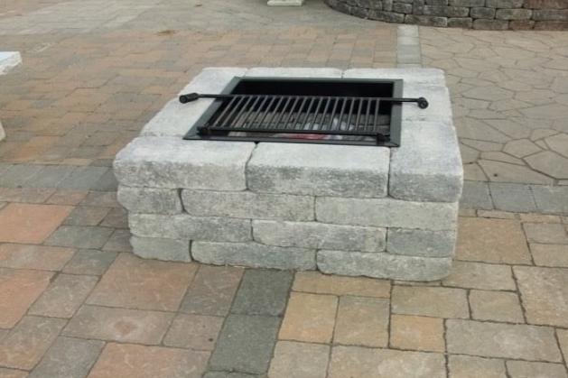 barbecue design 4 plus dco jardin pinterest barbecue barbecue en pierre et dco jardin - Barbecue En Pierre Fait Maison