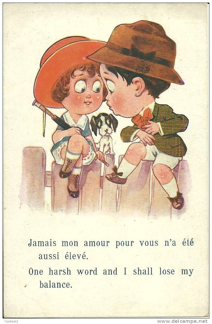 Cartes Postales / enfants amour - Delcampe.fr (With images) | Postcard, Harsh words, Teddy